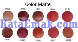 Review Produk Purbasari Matte Lipstick 2