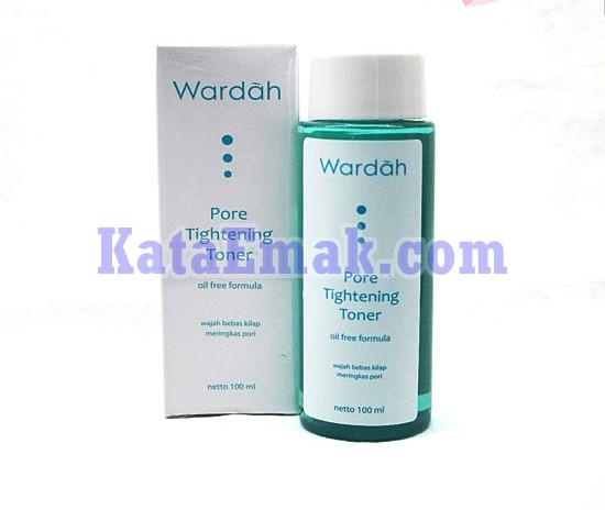 review Wardah Tigtening Toner