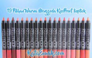 Review Kiss Proof Lipstick matte terbaru 2017 me now