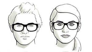 memilih kacamata untuk wajah bulat