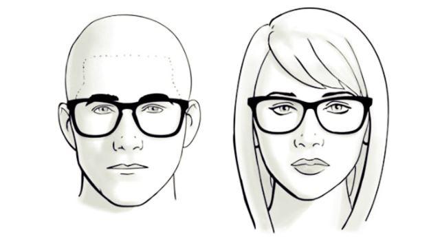 memilih kacamata untuk wajah oval