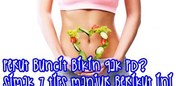 cara mengecilkan perut buncit secara alami